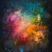 Cosmic-Geyser-III.-116x89cm-oil-on-canvas-Kristina-Sretkova-Sofia-2015