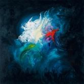 precious-100x100cm-oil-on-canvas-kristina-sretkova-cyprus-2011