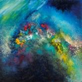 beautiful-galaxy-90x90cm-oil-on-canvas-kristina-sretkova-cyprus-2013
