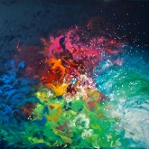 kingdom-of-colors-120x160cm-oil-on-canvas-kristina-sretkova-zurich-2012
