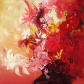 singing-flowers-120x80cm-oil-on-canvas-kristina-sretkova-berlin-2011