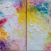 happy-world-diptych-60x30-oil-on-canvas-kristina-sretkova-cyprus-2014