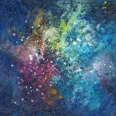 space-dew-3-30x30cm-oil-on-cancvas-kristina-sretkova-cyprus-2014