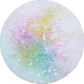 white-magic-30cm-mixed-media-and-oil-on-canvas-kristina-sretkova-cyprus-2014