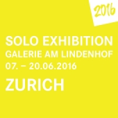 2016 • Galerie am Lindenhof • Solo Exhibition • 07. – 20. June
