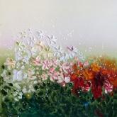 joyful-flowers-90x90cm-oil-on-canvas-kristina-sretkova-2013-berlin