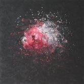 ash-rose-ii-100x100cm-oil-on-canvas-kristina-sretkova-sofia-2013