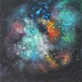 cosmic-gate-90x90cm-oil-on-canvas-kristina-sretkova-sofia-2014