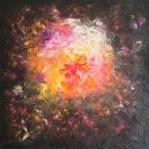 happy-fire-100x100cm-oil-on-canvas-kristina-sretkova-sofia-2013