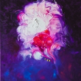 purple-harmony-100x80cm-oil-on-canvas-kristina-sretkova-sofia-2011