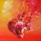 sweet-explosion-90x90cm-oil-on-canvas-kristina-sretkova-sofia-2011