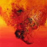 loving-explosion-80x80cm-oil-on-canvas-kristina-sretkova-berlin-2011