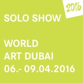 2016 • WORLD ART DUBAI • 6. – 9. April